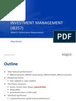 IM5 Performance Measurement