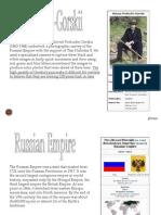 Russia PhotosbyProkudin Gorskii