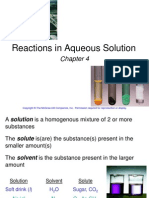4 CHANG Reactions in Aqueous Solution PPT