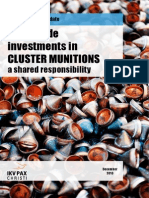 Worldwide Investments in Clustermunitions 2013