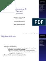 Clase I Micro III 2014