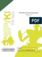 Instruction Manual Meccano Spykee