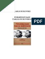 Dnevnik Čarls Bukovski