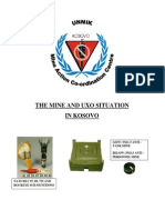 The Mine-UXO Situation in Kosovo-31May2000