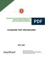 Standard Test Procedure RHD.bd