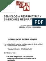 Semiologia Respiratoria y Sindromes