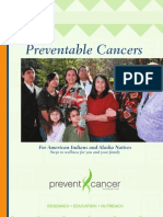 Guide to Preventable Cancers for American Indians and Alaska Natives
