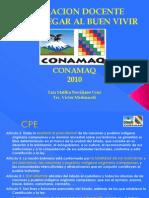 CONAMAQ FORMACION DOCENTE 26.05.2010
