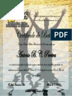 Certificado Ibbes Antonio