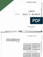 Libro Azul y Blanco
