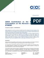 CECE Contribution Consultation 97 68 EC 05-04-2013
