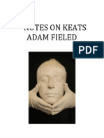Notes on Keats