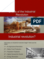 effects industrial revolution