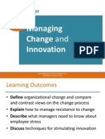 Chapter 8 - Managing Change and Innovation