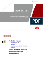 HedEx Lite V100R003 Introduction V2.0