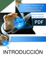 control gerencial de la producción y de la operacion