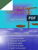 La Prueba en El Proceso Civil