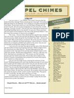 April 2014 Chapel Chimes Newsletter