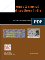 Shear Zones and Crustal Blocks of southern India