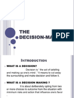 The decision making