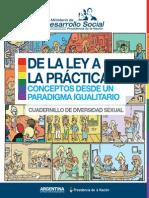 De la Ley a la practica - Diversidad sexual