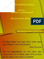 SESION 2 MISION EMPRESARIAL