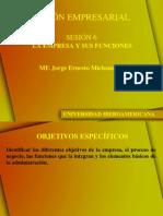 Sesion 6 Empresa y Sus Funciones