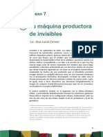 Anexo 7 La Maquina Productora de Invisibles
