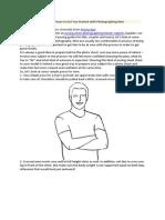 Posing Guide for Man
