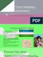 cotton farming in uzbekistan