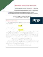 Problemas Radiactividad Curso 2013-14