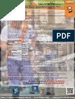 Programa 8ª Prueba Liga Autonomica 2014