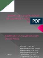 Sistemadeclasificacion de Usuarios y Asigancion Del Cuidado Enf.