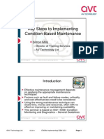 Slides - Key Steps to Implementing Condition-Based Maintenance