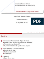 Digital Signal Processing Introduction