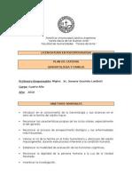 Plan de Cátedra-Gerontología y Familia