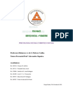 ATPS - Psicologia Social e Serviço Social