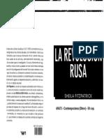 FITZPATRICK - La Revolución Rusa caps. 4 al 6