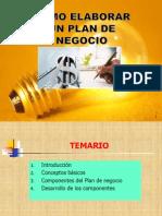 INTRODUCCIÓN AL PLAN DE NEGOCIOS