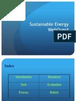 sustainable energy taskforce webquest