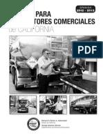 Manual Para Conductores Comerciales de California