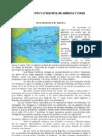 Descubrimiento y Conquista de America y Chile