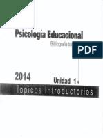 Psicología Educacional Unidad 1