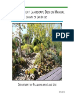 San Diego County Water Efficient Landscape Design Manual