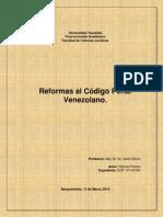 Ensayo de Reformas al Código Penal