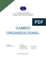 Trabajo Cambio Organizacional