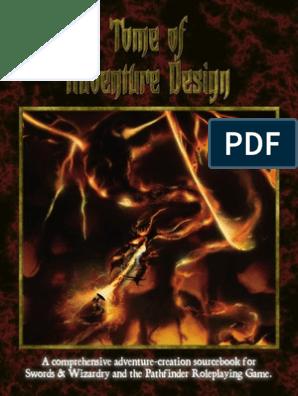 Tome of Adventure Design | Sabotage | Espionage