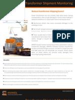 MIMTIS - Transformer Transportation Monitoring Solutions