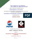 Market survey of PepsiCo retailers on display effectiveness.