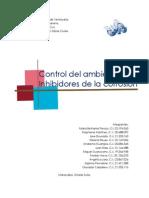 Control Del Ambiente e Inhibidores de La Corrosion